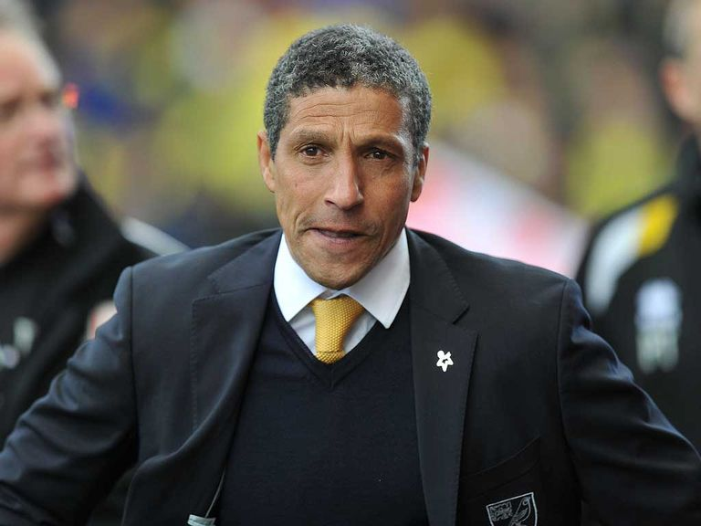 Chris Hughton: Happy with life in Norfolk