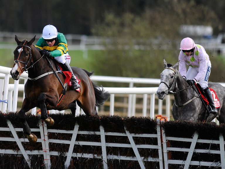 Jezki (l) was a clear winner at Punchestown
