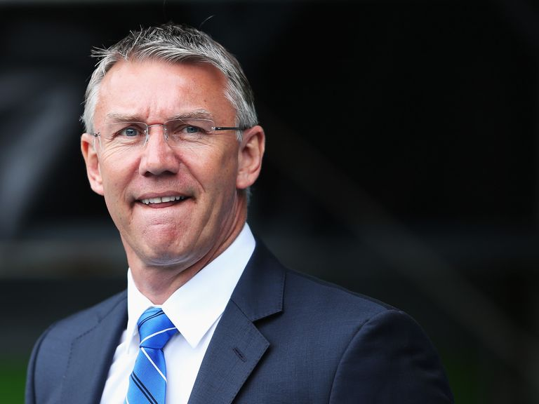 Nigel Adkins: Took over as Reading boss in late March
