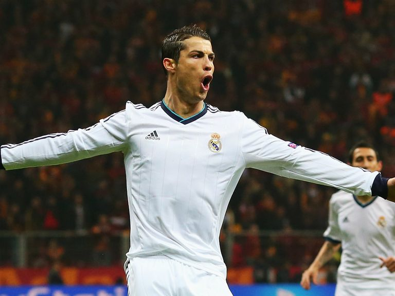 Ronaldo: Has been linked with a move to Old Trafford