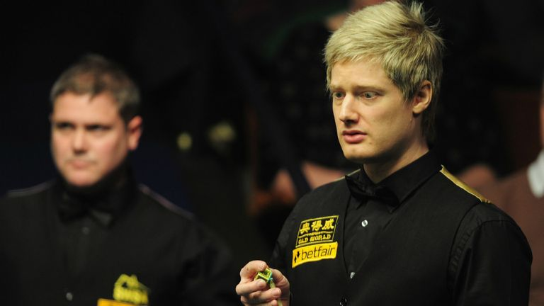 Neil Robertson: Won back to back titles in China