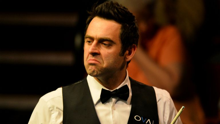 Ronnie O'Sullivan: Claims snooker lacks personalities
