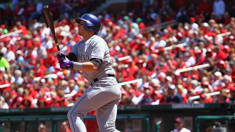 Troy Tulowitzki: Hit a three-run homer for Colorado