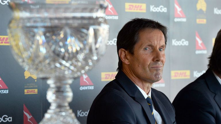 Robbie Deans: Revealed his preliminary 25-man squad to face the Lions