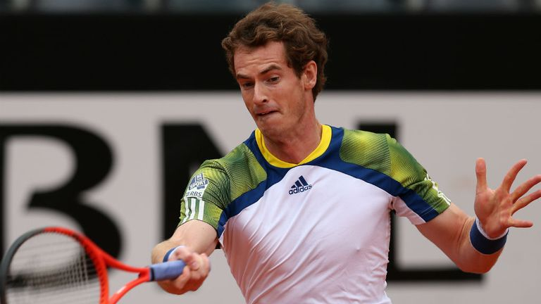 Andy Murray: Retired injured against Marcel Granollers