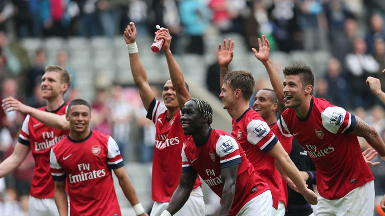 Will Arsenal be celebrating in 2013/14?