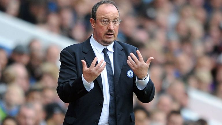 Rafa Benitez: Leads Chelsea into Wednesday's Europa League final against Benfica