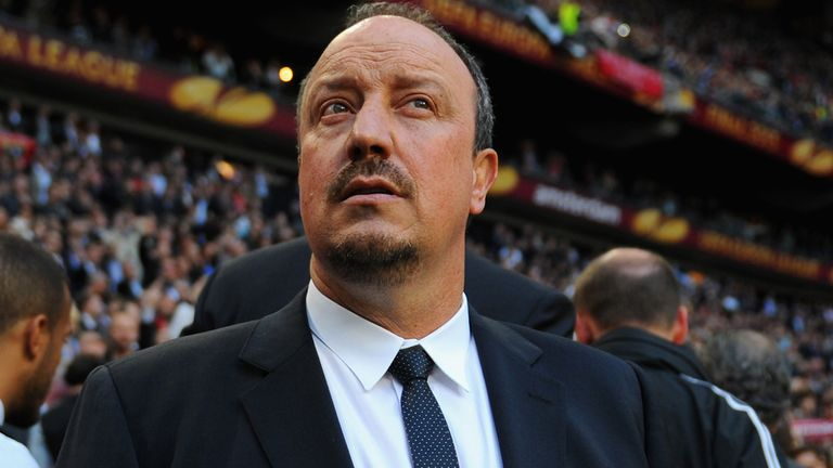 Rafael Benitez: Officially unveiled as the new Napoli boss