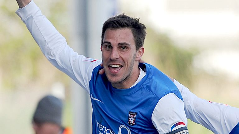 Chris Smith: League Two's top player for April