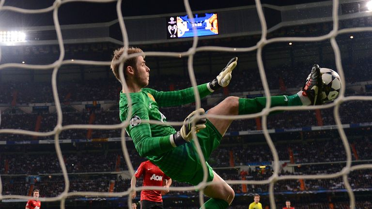 David De Gea: Manchester United goalkeeper aiming to compete with best in the world
