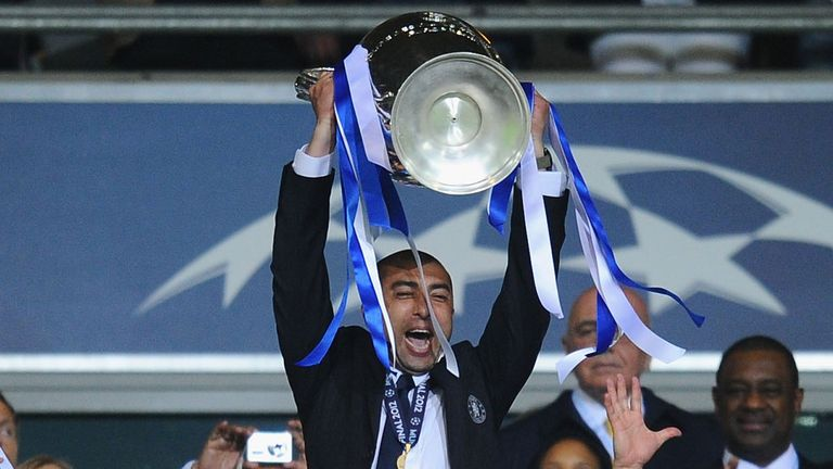 Di Matteo: Lifted the Champions League with Chelsea