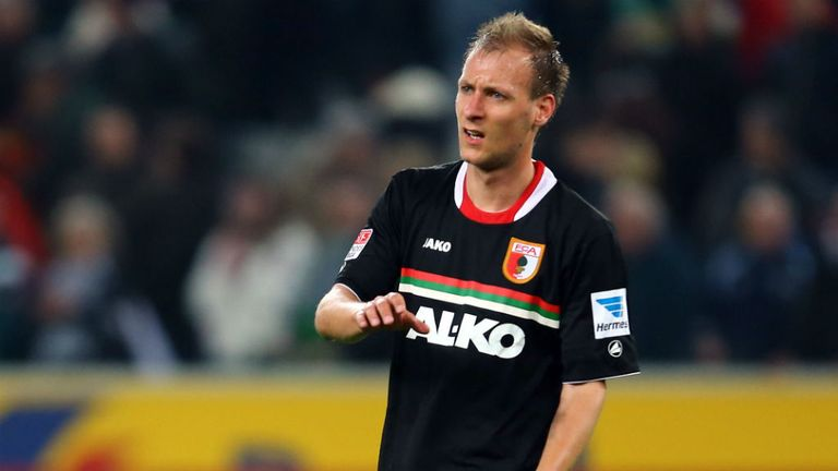 Dominik Reinhardt: Played just four Bundesliga games in 2012/13
