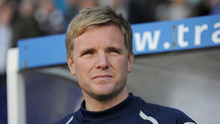 Eddie Howe: In line for award