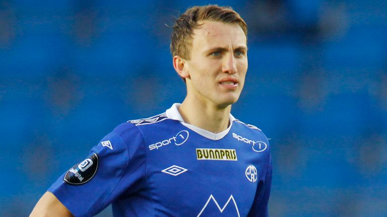 Magnus Wolff Eikrem: Has held talks with Heerenveen over possible summer move