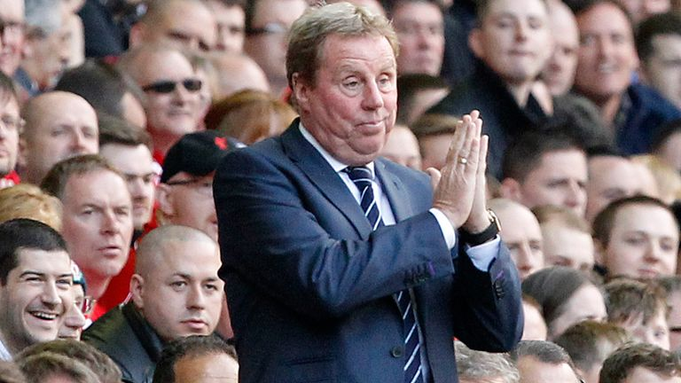 Harry Redknapp: Will want to return QPR to the top flight at the first attempt