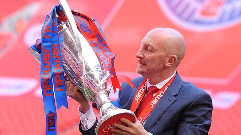 Holloway: guided Palace into Premier League after victory over Watford