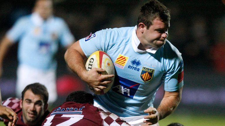 Perpignan prop Jerome Schuster is heading for the east midlands