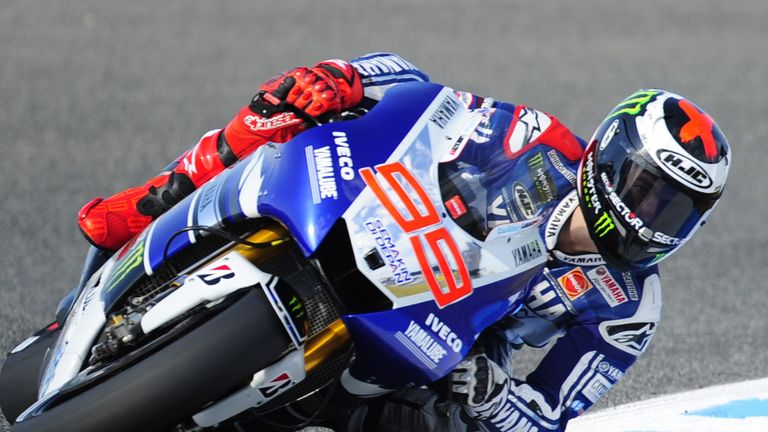 Jorge Lorenzo: Raced to pole position on his birthday in Spain
