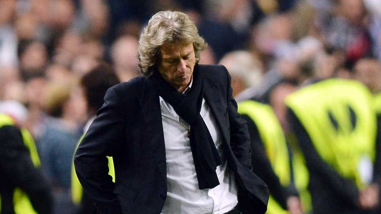 Jorge Jesus: Felt his side would have been deserved winners