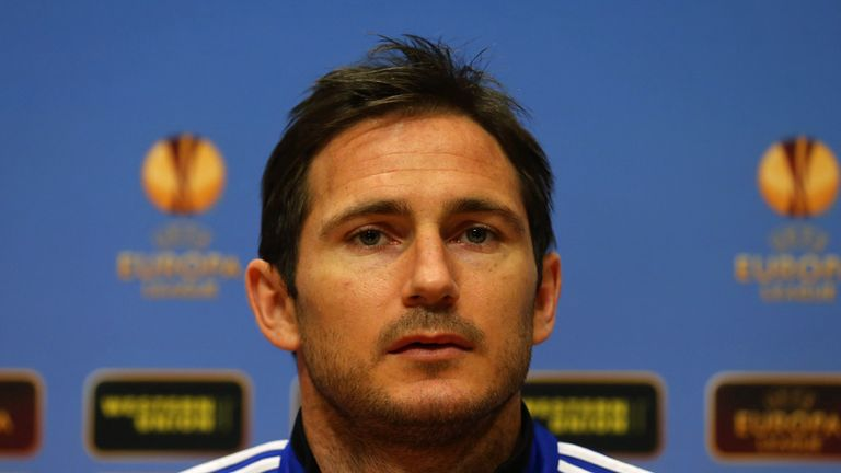 Frank Lampard: Suffering from an Achilles injury