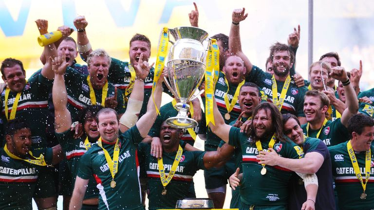 Leicester Tigers: Favourites to lift the Aviva Premiership trophy again in 2013/14