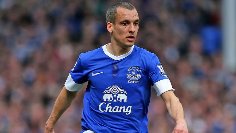 Leon Osman: Everton midfielder has signed new deal to 2015