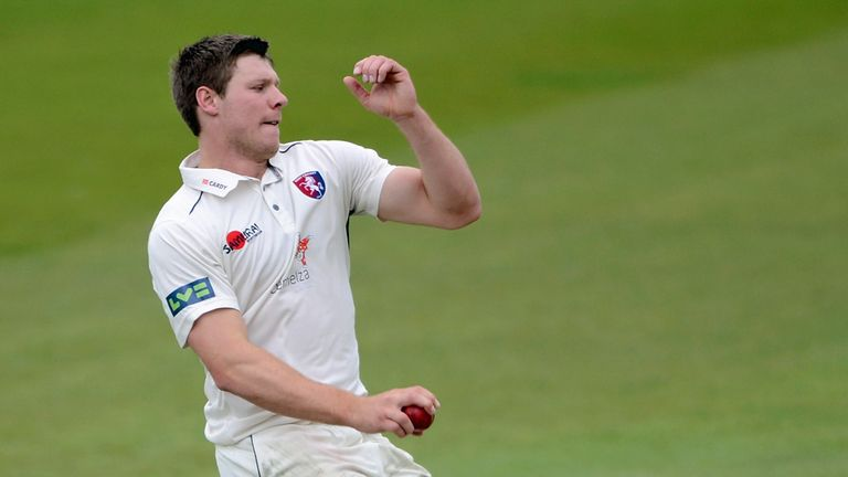 Matt Coles: Has now signed a permanent deal at Hampshire