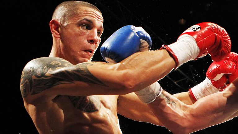 Danny McIntosh: Stepping up in weight for this weekend's Prizefighter.