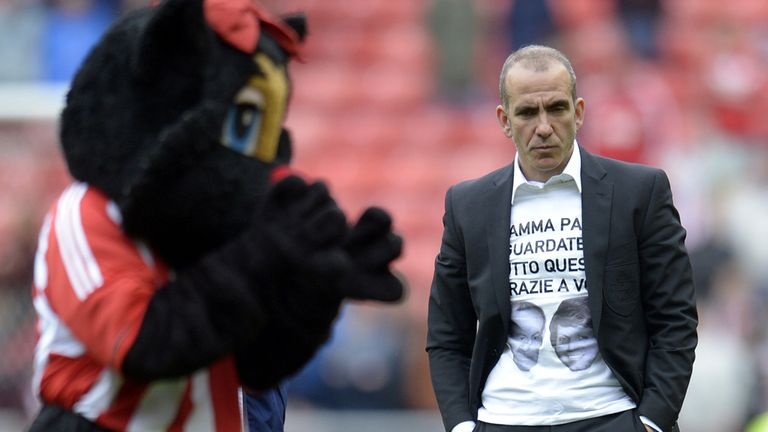 Paolo Di Canio: Sunderland manager has work to do despite avoiding relegation