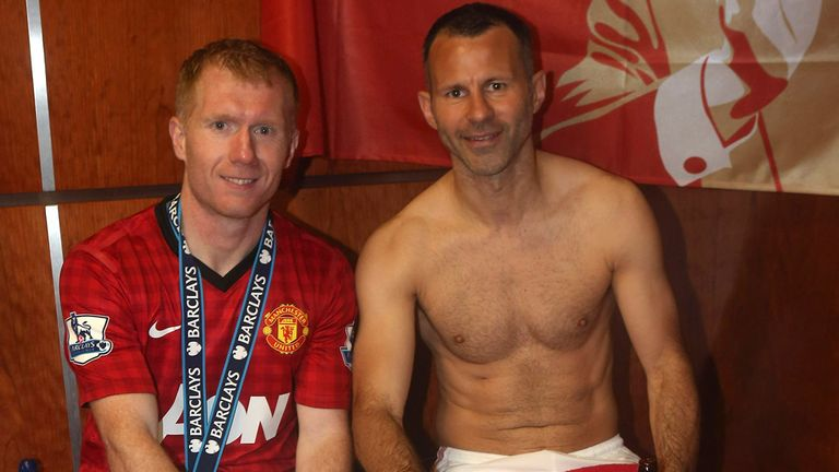 Scholes & Giggs: played in the same league game 356 times