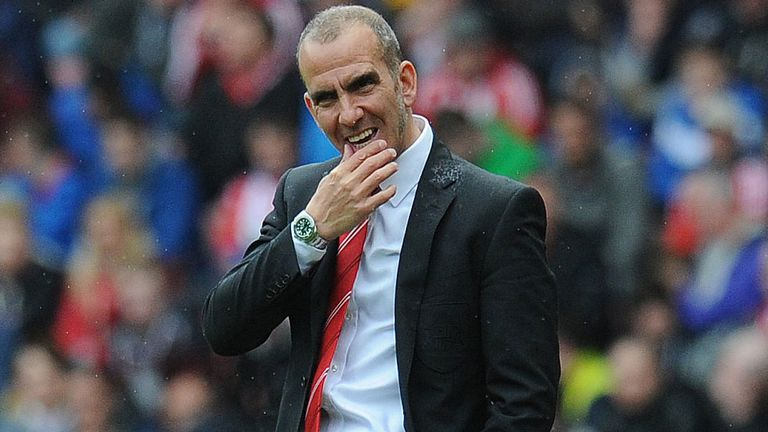 Paolo Di Canio: Happy with the commitment shown by Sunderland at Tottenham