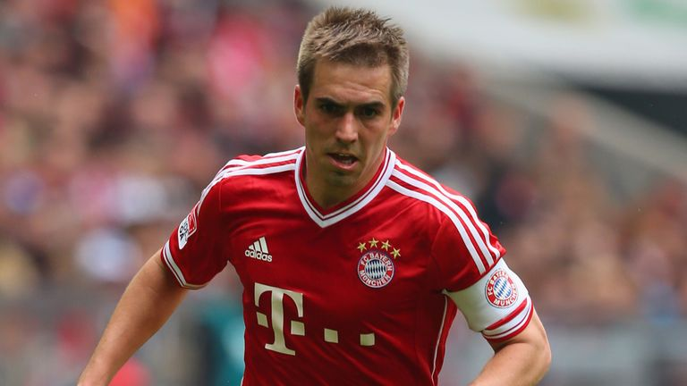 Philipp Lahm: Looking forward to facing Barcelona