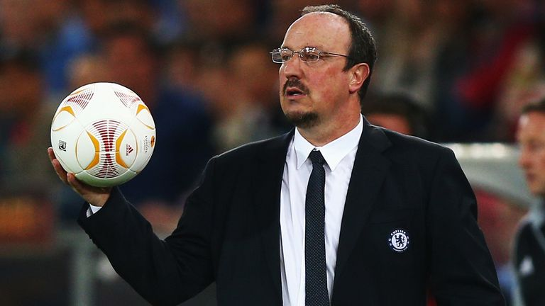 Rafa Benitez: Will manage Chelsea in the Europa League final against Benfica