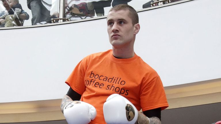 Ricky Burns: Could have some big fights in his future.
