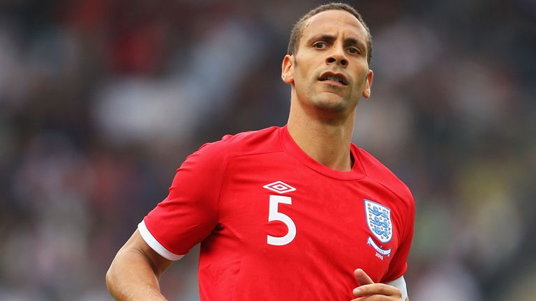 Rio Ferdinand: Has called time on his international career after winning 81 caps