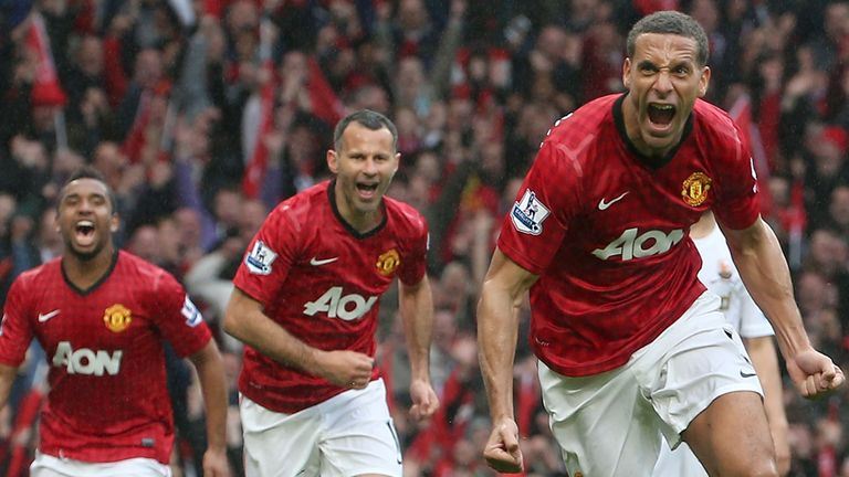 Rio Ferdinand: First league goal in five-and-a-half years