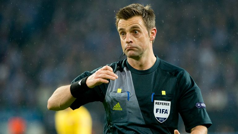 Nicola Rizzoli: Chosen to referee Wembley final