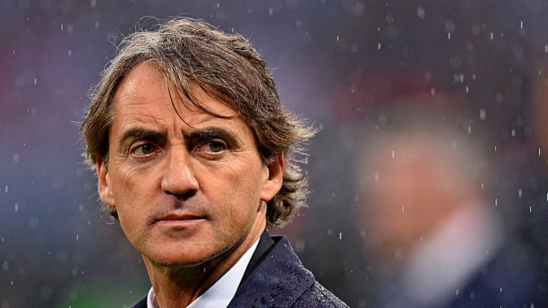 Roberto Mancini: Sacked by Manchester City after losing the FA Cup final