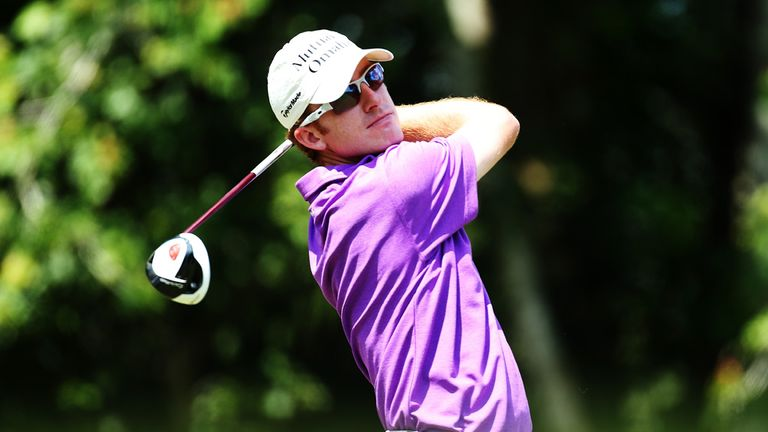 Roberto Castro claimed the first-round lead at Sawgrass with a course record