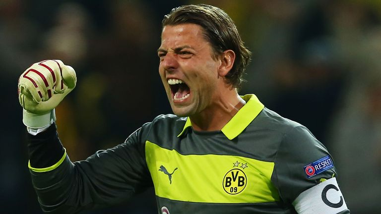 Roman Weidenfeller: Signed a new deal until 2016