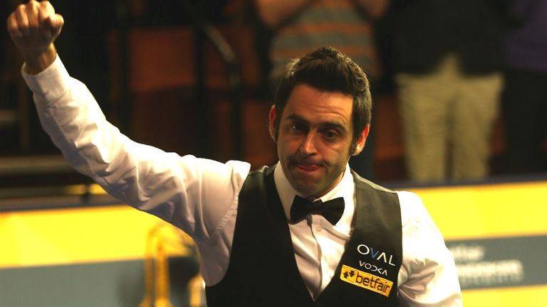 Ronnie O'Sullivan: One win away from defending his Crucible crown