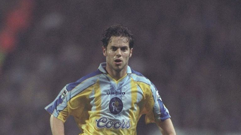 Scot Minto: Loved his time at both clubs but his heart lies with Chelsea (just) ahead of the Europa League final