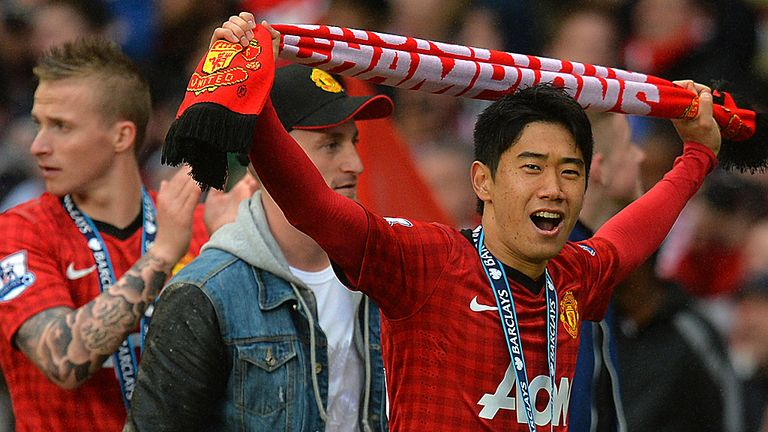 Shinji Kagawa: Manchester United midfielder is part of new boss David Moyes' plans
