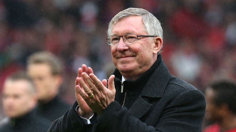 Sir Alex Ferguson signs off at Old Trafford with a 2-1 victory over Swansea City.