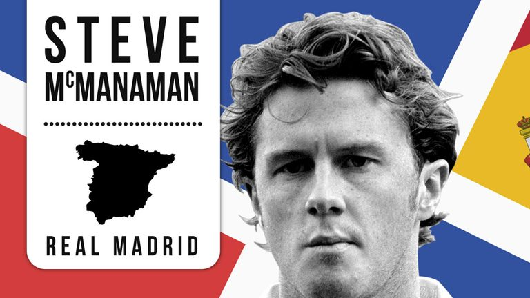 Steve McManaman: Enjoyed huge success in his four years with Real Madrid