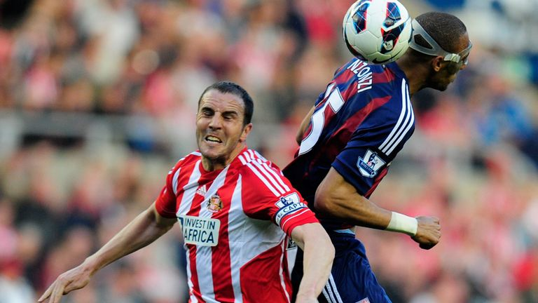 John O'Shea: Scored Sunderland's equaliser against Stoke