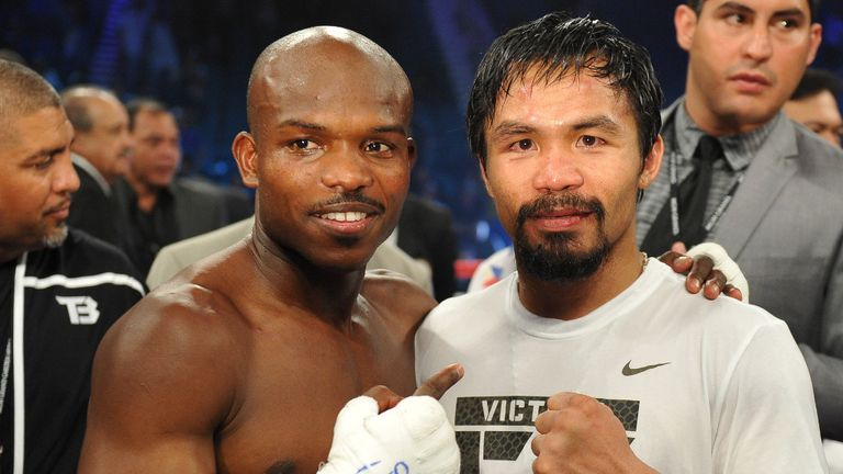 Re-match: Manny Pacquiao is set to fight Timothy Bradley again