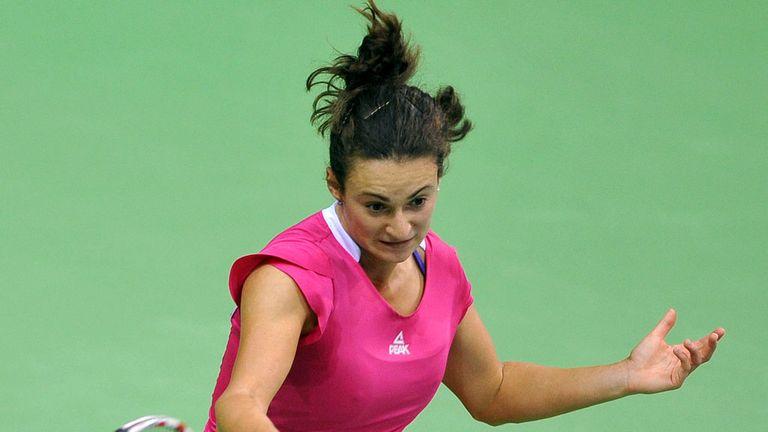 Vesna Dolonc: Defeated former champion Dominika Cibulkova in first round
