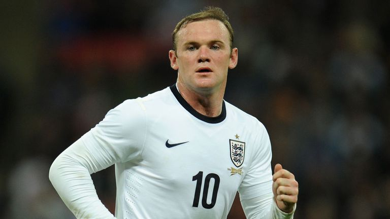 Wayne Rooney: Not interested in personal records for England