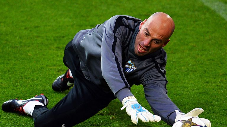 Willy Caballero: Malaga goalkeeper linked with Manchester City